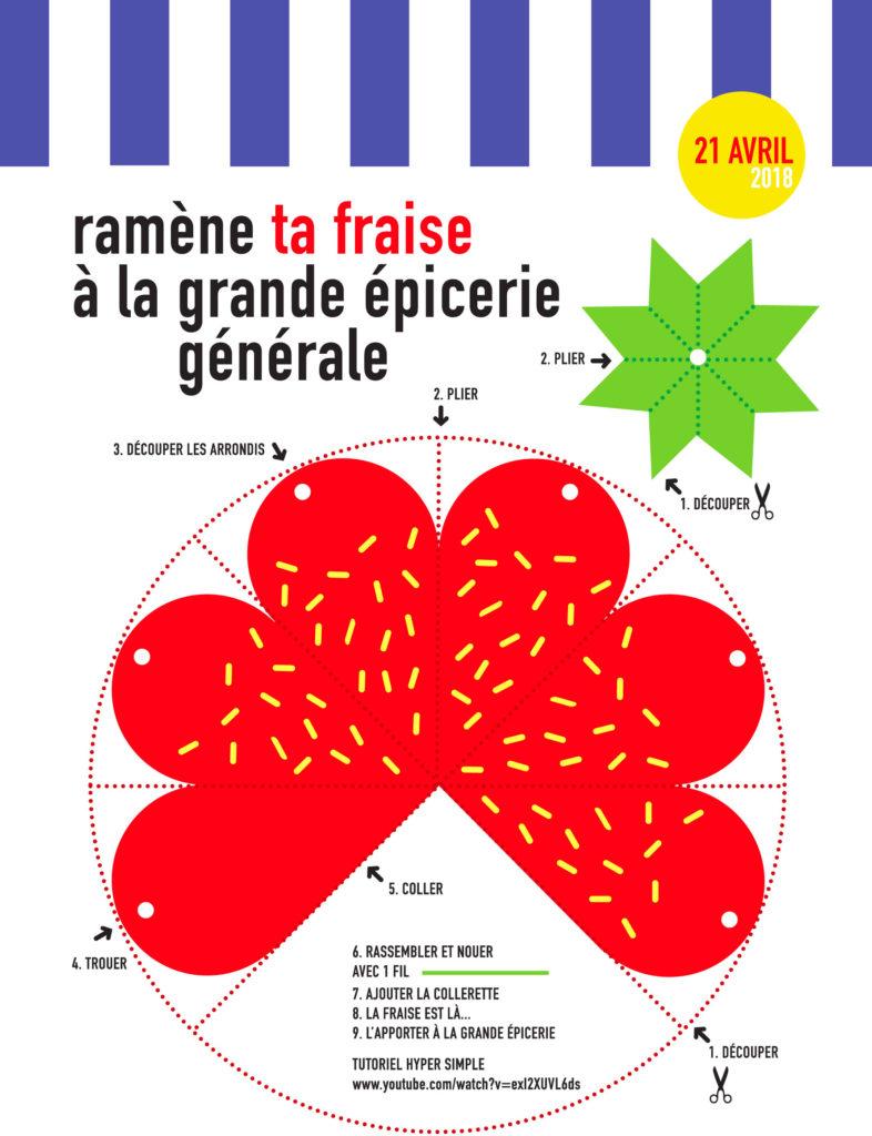 Ram ne ta fraise le 21 avril la grande picerie g n rale - Ramene ta fraise ...